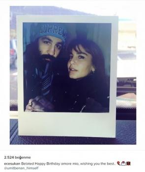 Instagramda ünlüler...