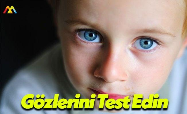 Çocuklarda Göz Sorunları Başarıyı Etkiliyor!