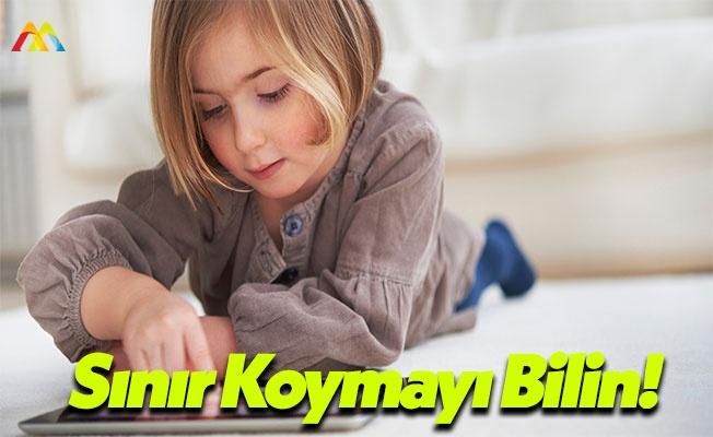 Çocuklarınıza Tablet ve Bilgisayar Saati Koyun!