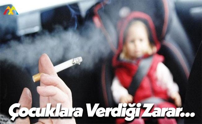 Çocuklarınızın Yanında İçtiğiniz Her Bir Sigara!