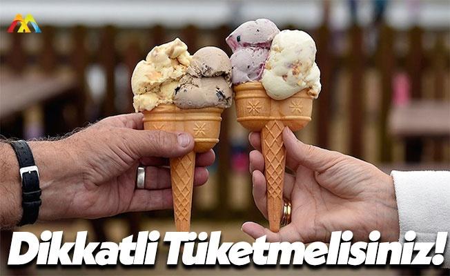 Kış Aylarında Dondurma Tüketenler Dikkat!