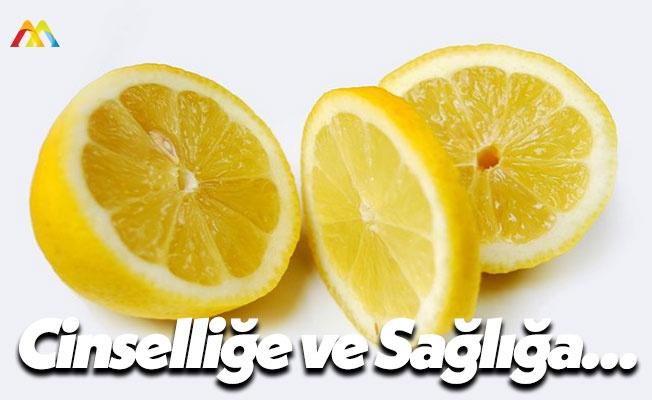 Limonun Cinsel Sağlığı Etkilediğini Öğrenin!