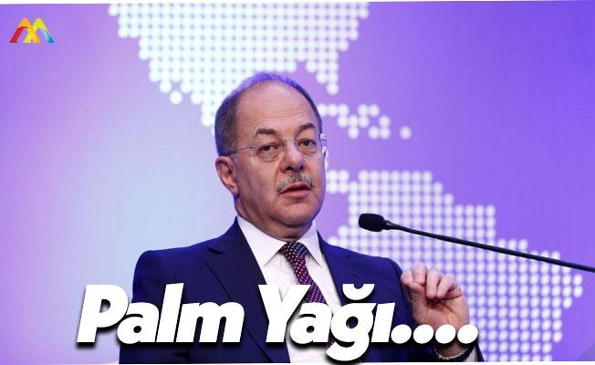 Sağlık Bakanı Recep Akdağ: Palmiye Yağı...