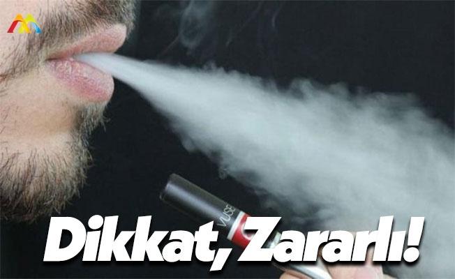 Uzmanlardan Elektronik Sigara Uyarısı!
