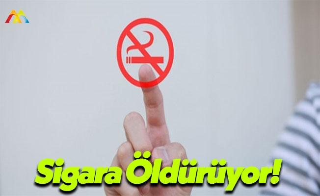 Sigaradan Dolayı Her Yıl 6 Milyon İnsan Ölmekte!