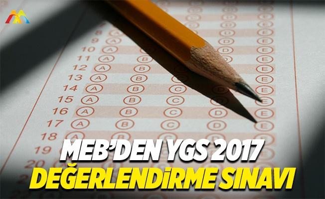 2017 YGS sınavı öncesinde 3. değerlendirme sınavı