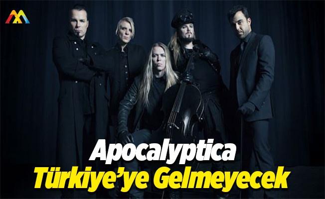 Apocalyptica grubundan Türkiye'deki konserlerine iptal