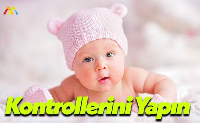 Bebeklerin Duyu Organlarını Kontrol Edin