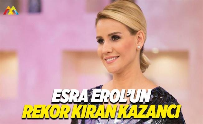 Esra Erol'un kazancı 100 bin lira