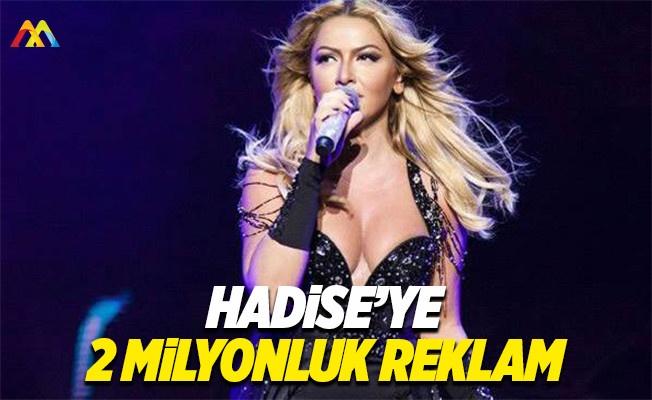 Hadise'ye ayakkabı reklamından 2 milyon lira