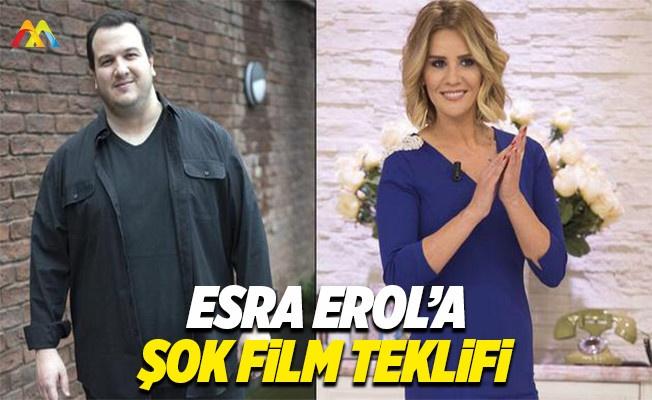 Şahan'dan Esra'ya film teklifi