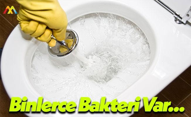 Tuvaletleri Temizlerken Mikrop Kapabilirsiniz!