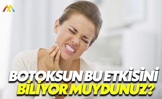 Botoks diş gıcırdatmada da kullanılıyor