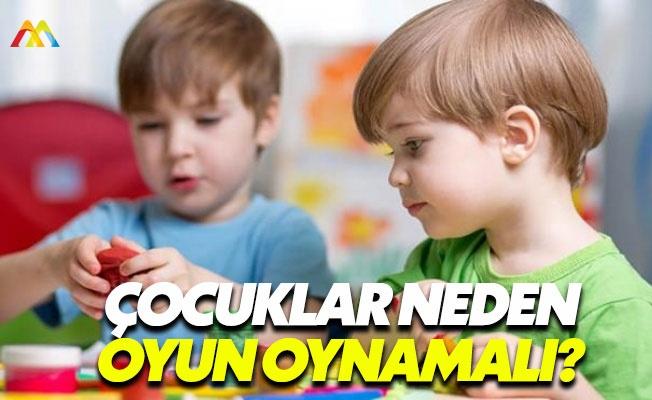 Çocukların oyun oynaması şart