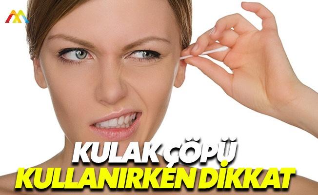 Kulağınızı temizlemeye çalışmalın