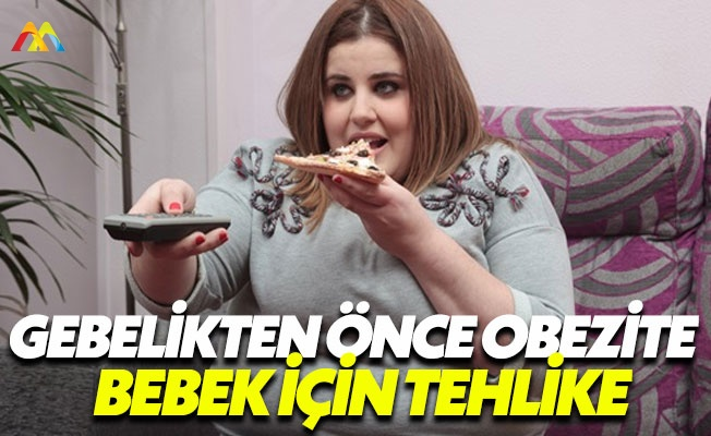 Obezite gebelik için tehlike