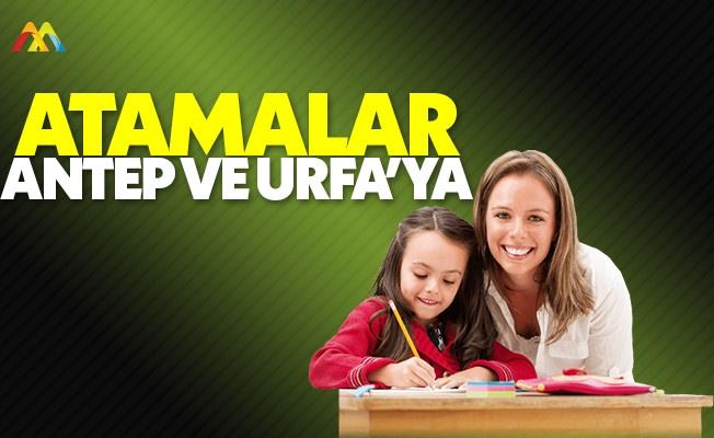 Öğretmen atamalarında öncelik Gaziantep ile Şanlıurfa'da
