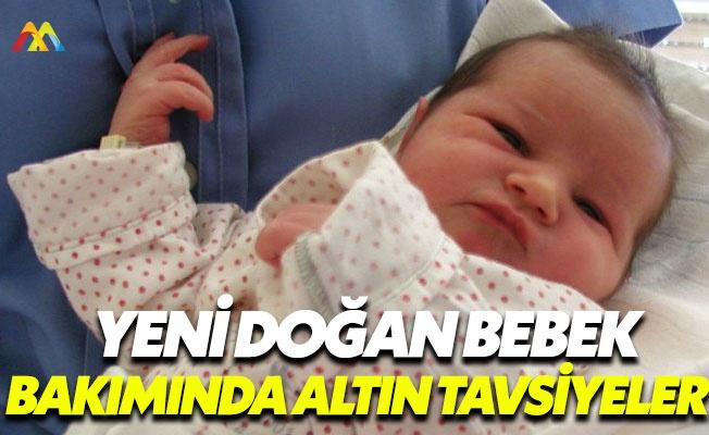 Yeni doğan bebekler için altın öneriler