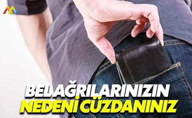 Arka cepte taşınan cüzdan zarar veriyor