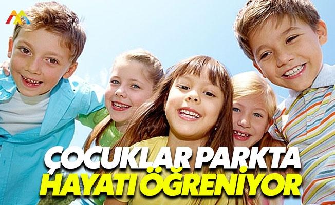 Çocukları parka çıkarmaktan çekinmeyin