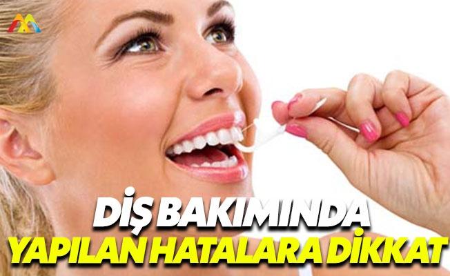 Diş sağlığınızı korumak için bu noktalara dikkat