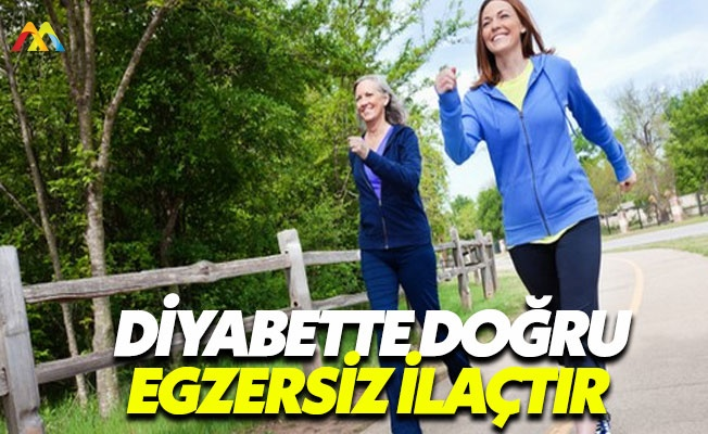 Diyabet hastaları spor yaparken dikkatli olmalı