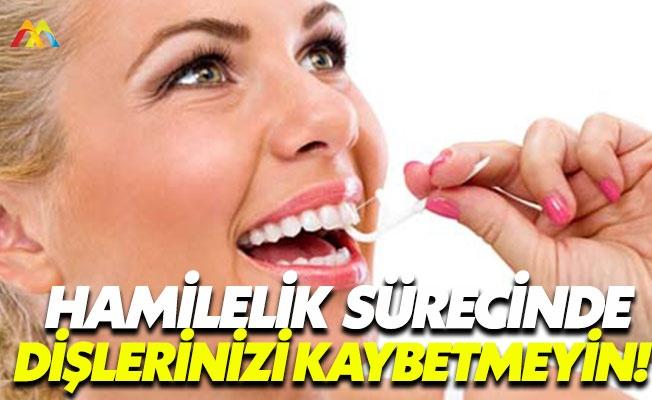 Hamilelik sürecinde diş bakımına dikkat