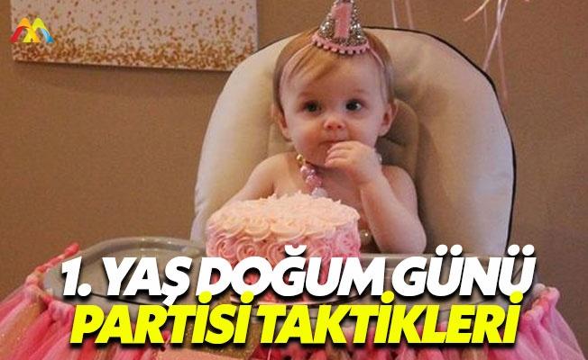 İlk yaş doğum günü kutlamaları planlama