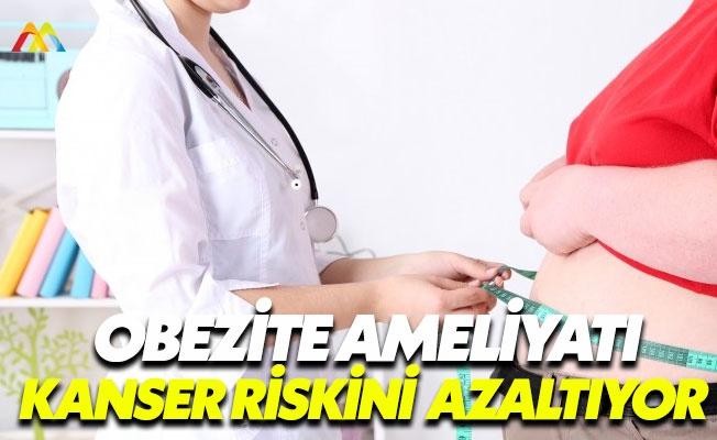 Obezite cerrahisi kanser riskini azaltıyor