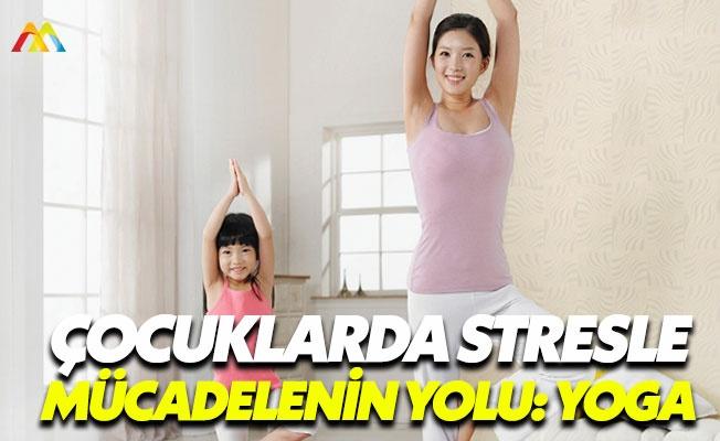Yetişkinler kadar çocuklarında yogaya ihtiyacı var