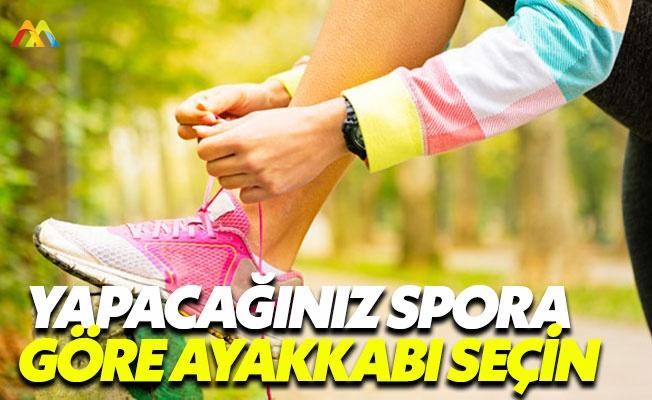 Yapacağınız spora göre ayakkabı tercihi şart