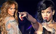 Rihanna'dan Jennifer Lopez'e Tepki!