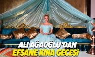 Ali Ağaoğlu'ndan kızına ikinci kına gecesi
