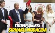 Şırnaklı modacıdan Trump'ın ailesine özel kıyafetler