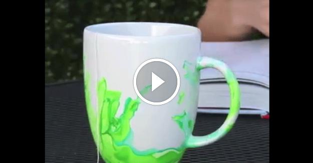 Düz Kupa Bardaklarınızı Rengarenk Kullanmak Hoşunuza Gidecek