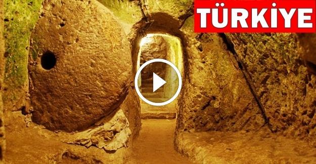 Evinde Bir Duvarı Kırdı - Gizli Bir Yeraltı Şehri Buldu!